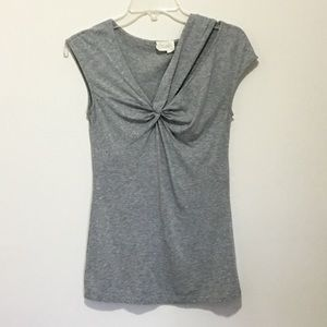 Anthropologie Twist Front Top